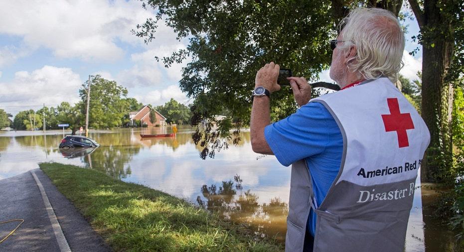 Louisiana Flood Red Cross AP FBN