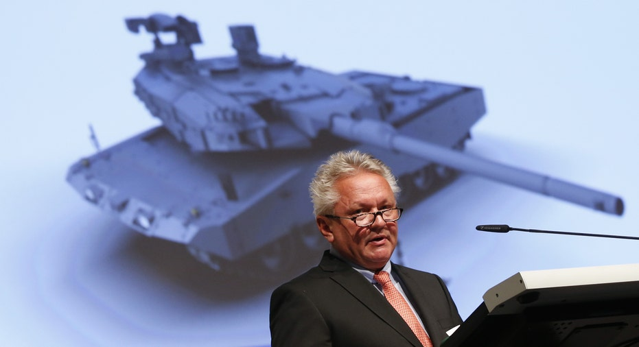 Rheinmetall CEO and tank FBN