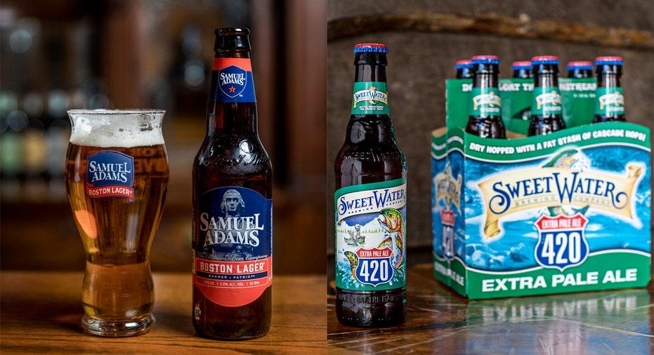 Sam Adams/SweetWater Beers