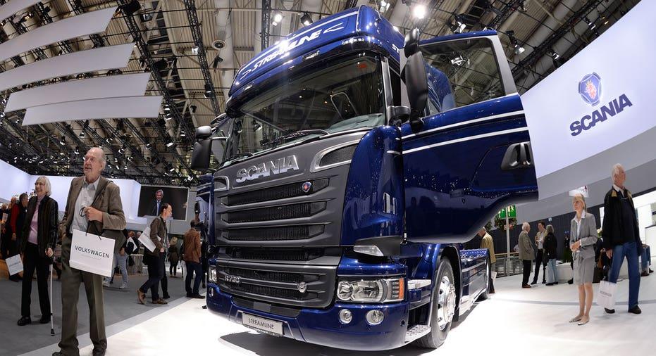 Scania truck Volkswagen FBN