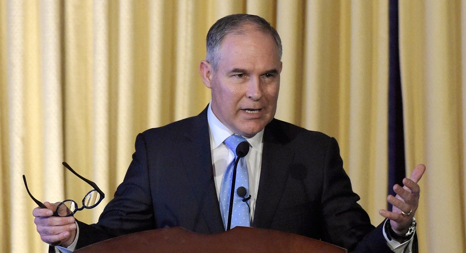 Scott Pruitt, EPA administrator FBN