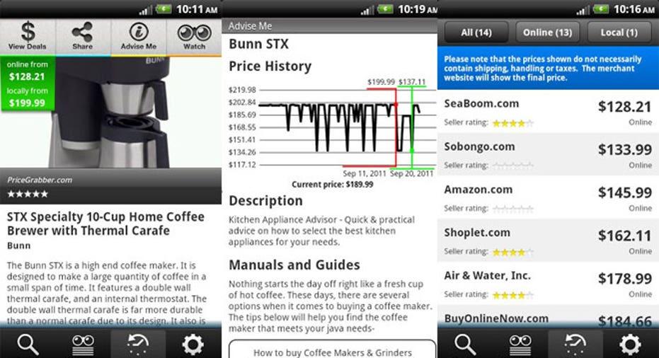 PF shop-advisor-app