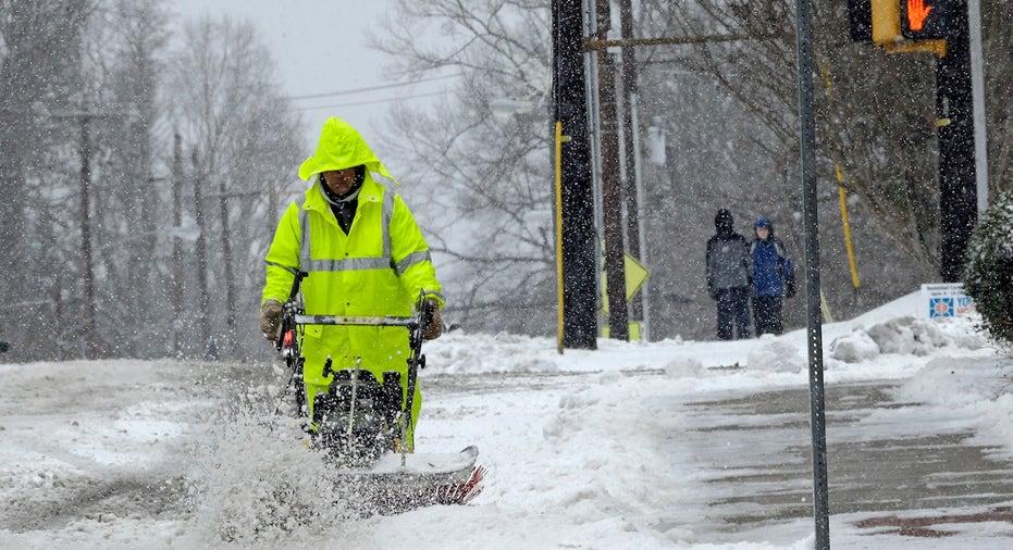Winter Storm, Snow, snow plow FBN