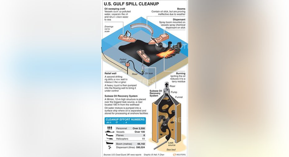 U.S. Gulf Spill Cleanup