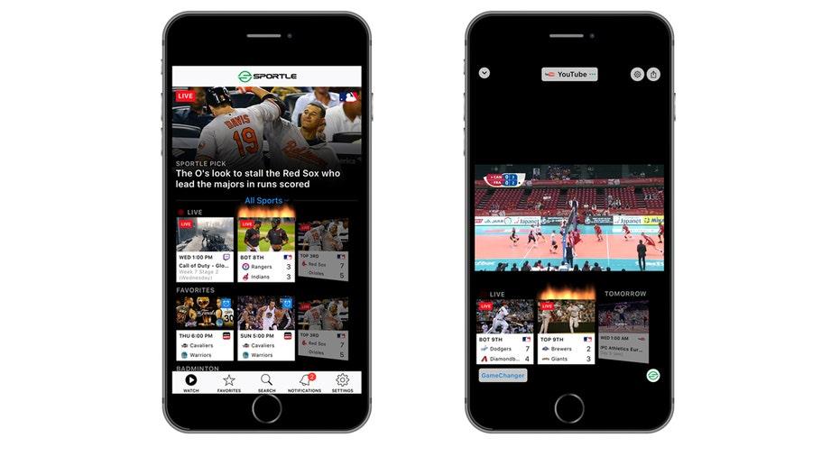 Sportle app images FBN