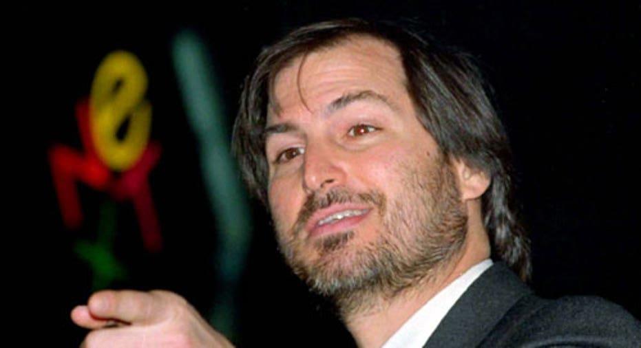 Steve Jobs & Next Logo