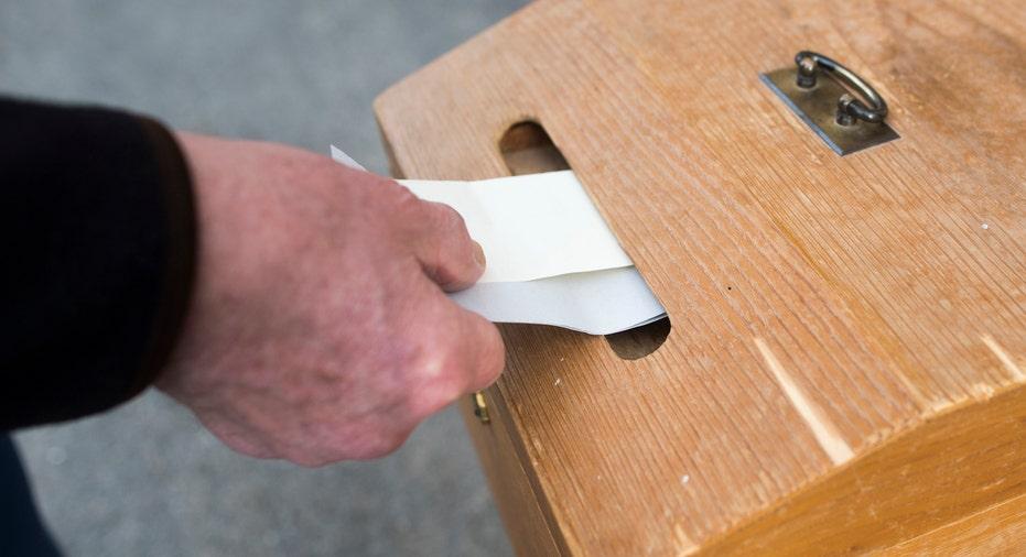 Switzerland Voting Box AP FBN