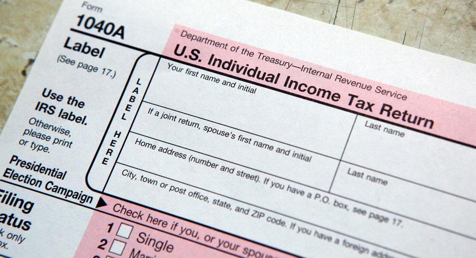 Tax Form 1040A, taxes, IRS FBN