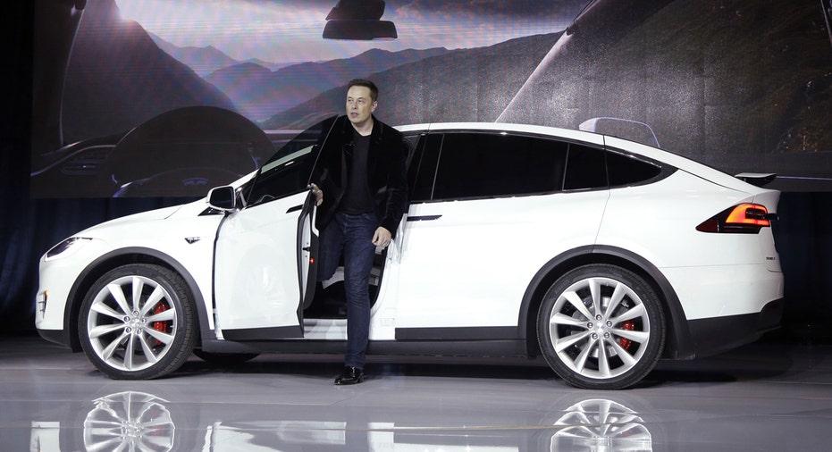Tesla Model X Elon Musk FBN AP