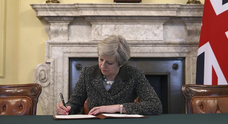 Theresa May Brexit FBN