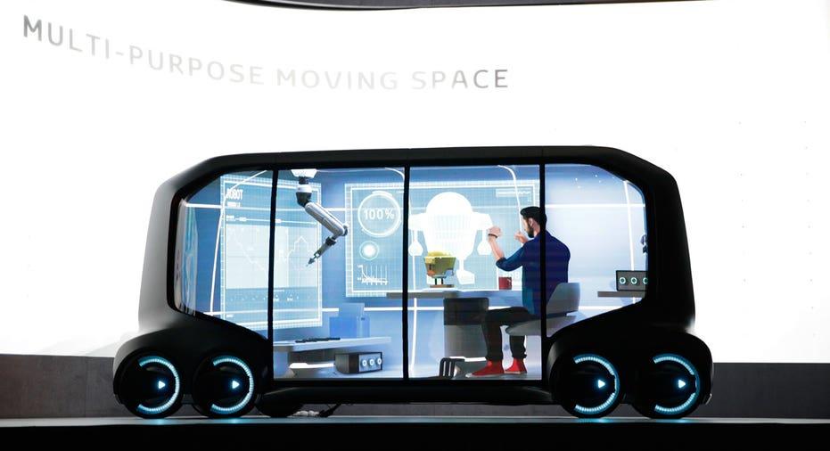Toyota concept CES 2018 AP FBN