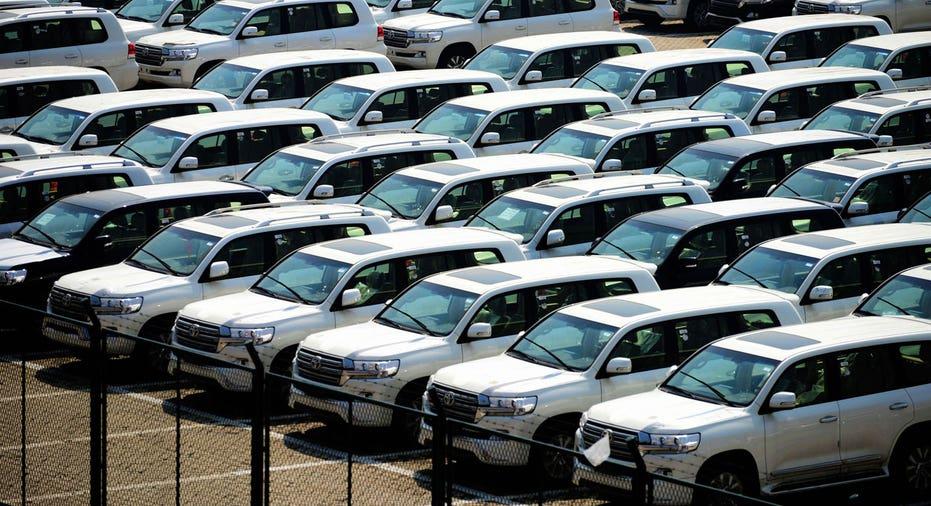 Toyota SUVs in China FBN AP