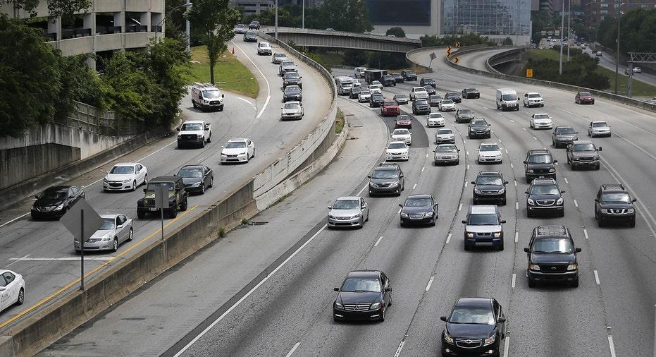 Traffic in Atlanta, cars FBN AP