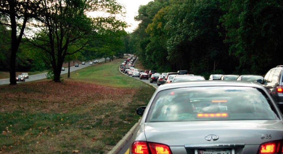 Traffic Jam in Virginia