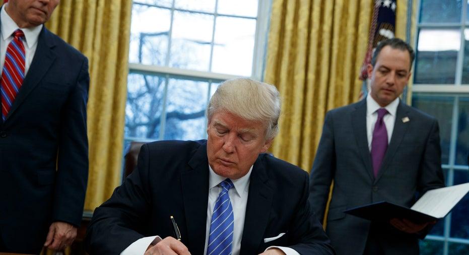 Trump executive order fbn