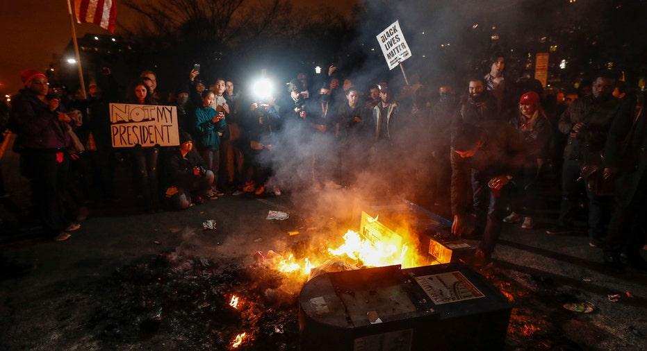 Trump Inauguration Protest AP FBN