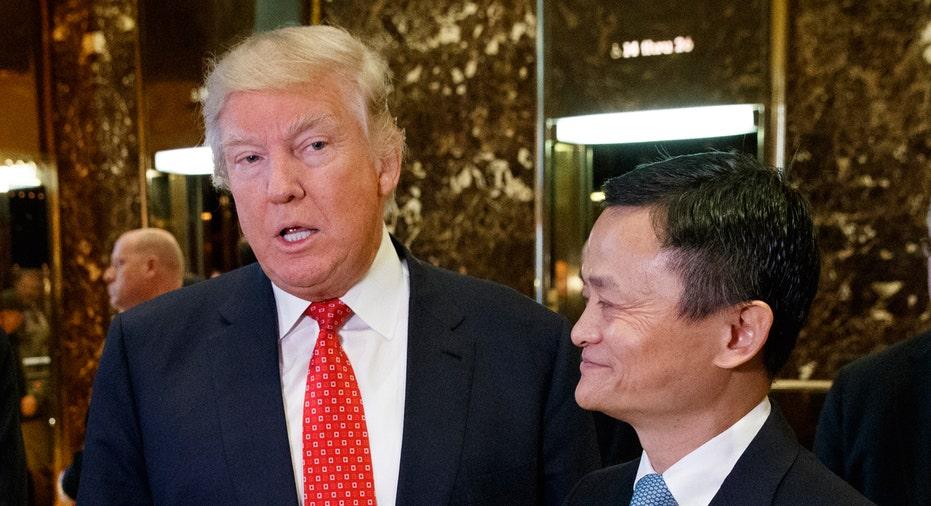 Trump, Jack Ma FBN