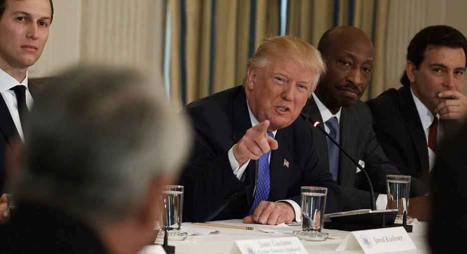 Donald Trump meeting CEOs Fields Kushner FBN