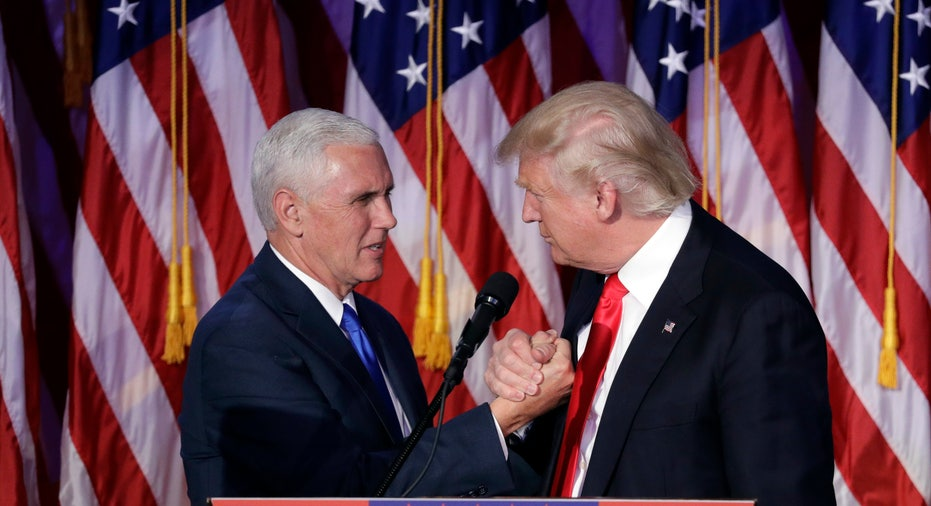 Donald Trump Mike Pence victory speech FBN