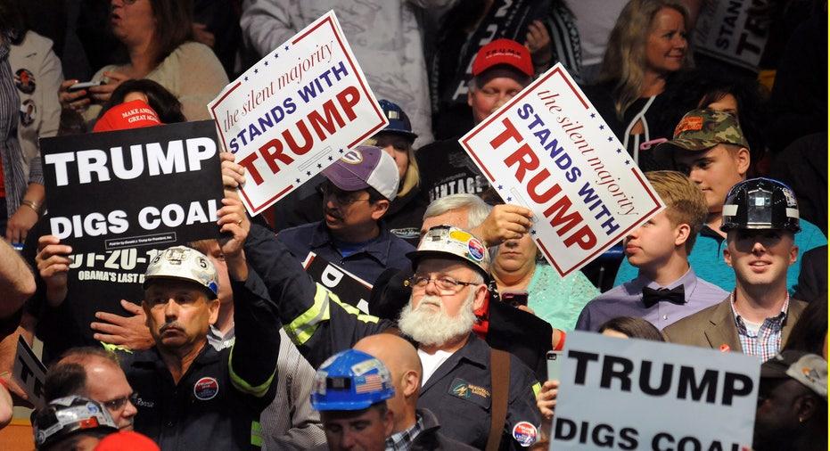 Donald Trump coal supporters FBN
