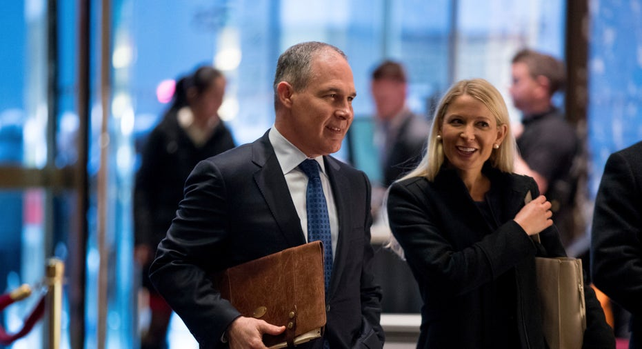 Scott Pruitt (Head of the Environmental Protection Agency)