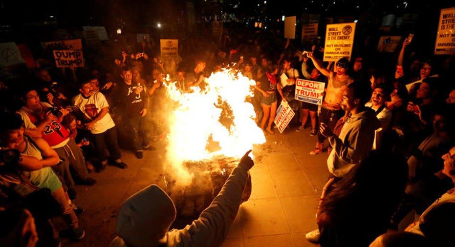 Trump Protest LA  Reuters