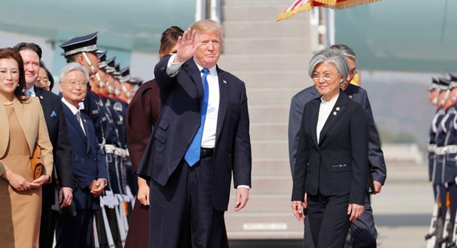 Trump Seoul  REUTERS/Jonathan Ernst