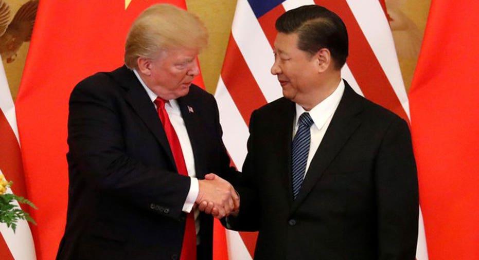 Trump XI meeting  REUTERS/Jonathan Ernst