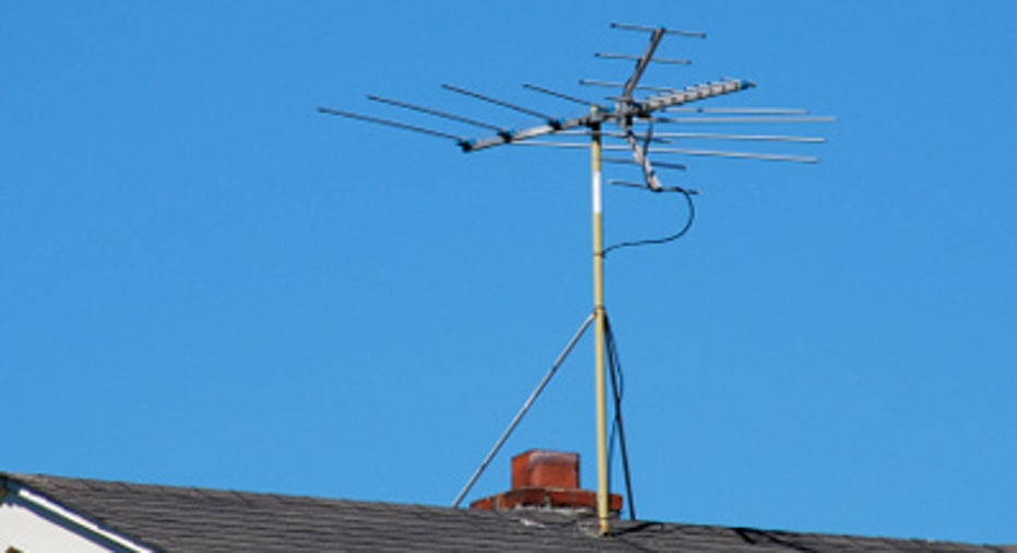 Old-Fashioned TV Antenna
