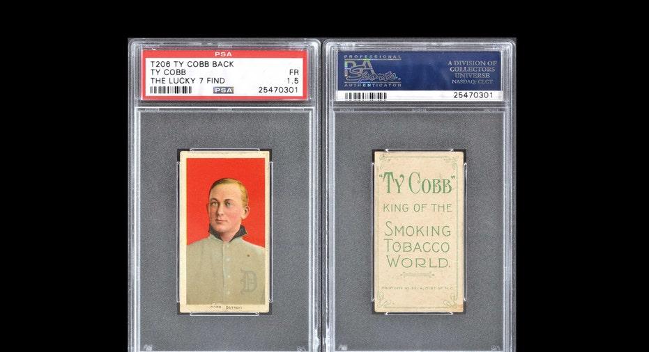 Ty Cobb card auction FBN