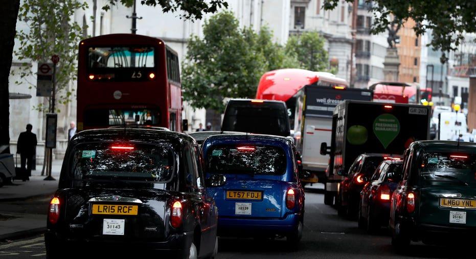 U.K. cars on road FBN AP