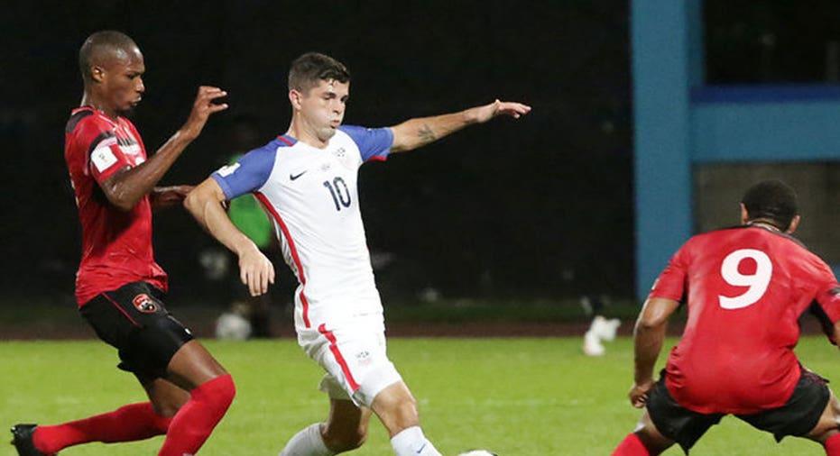 US Soccer Eliminated  REUTERS/Andrea de Silva