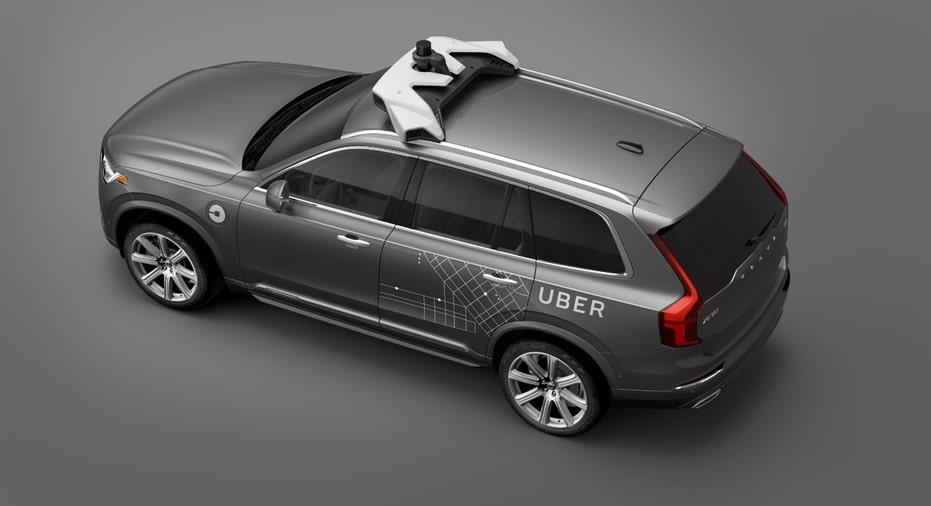 Volvo XC90 SUV Uber autonomous vehicle FBN