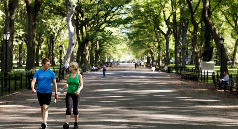 Walking Central Park, Personal Finance Slideshow