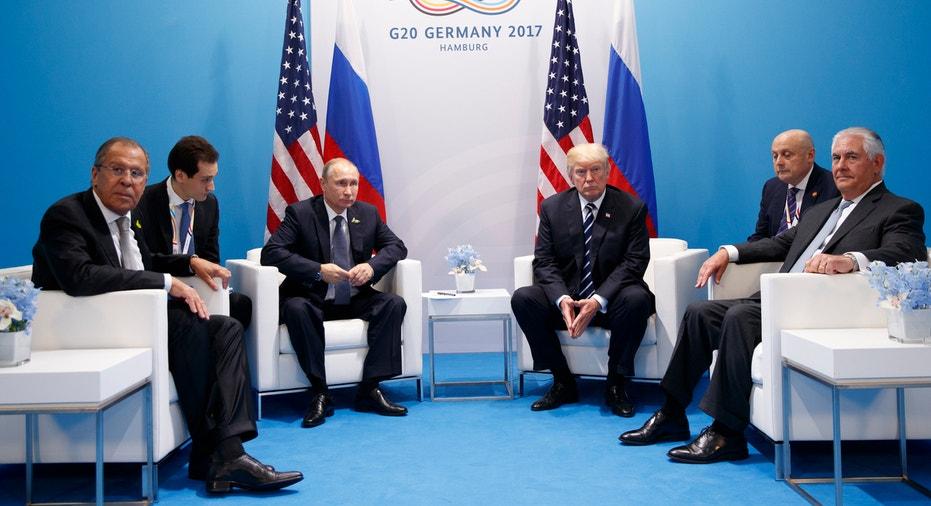 Trump Putin Tillerson G20 FBN