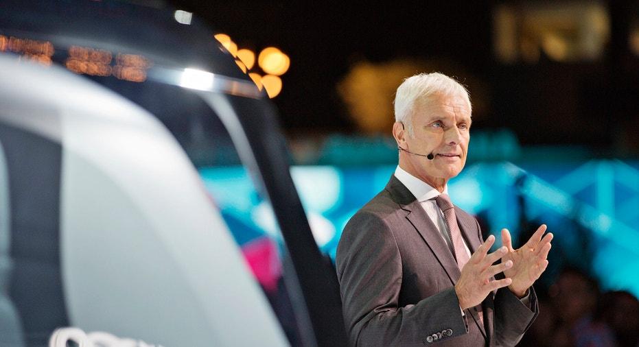Volkswagen CEO Matthias Mueller FBN