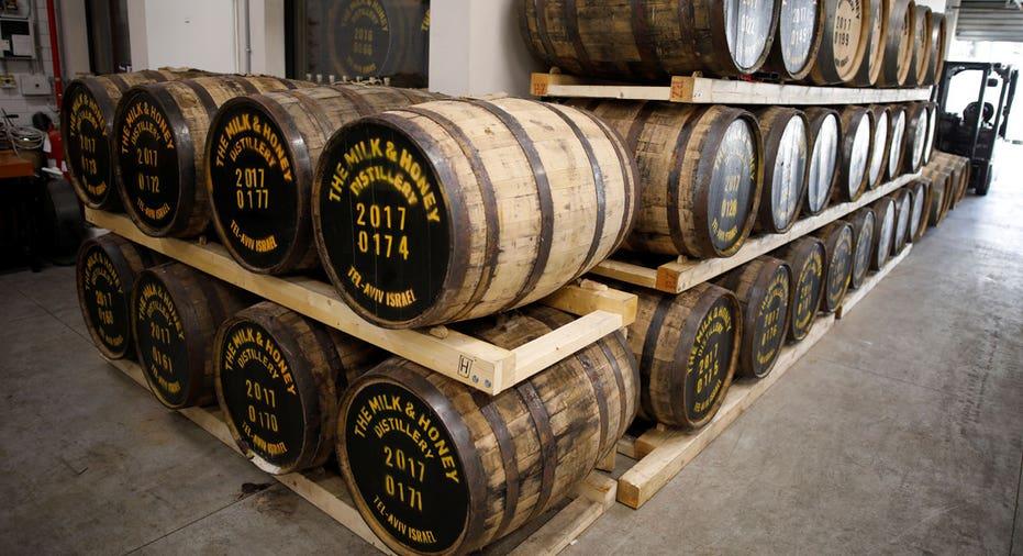 Whiskey barrels FBN