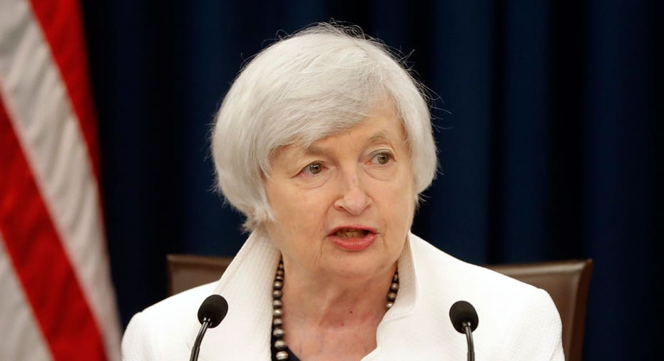 Janet Yellen Fed chair press conference AP FBN