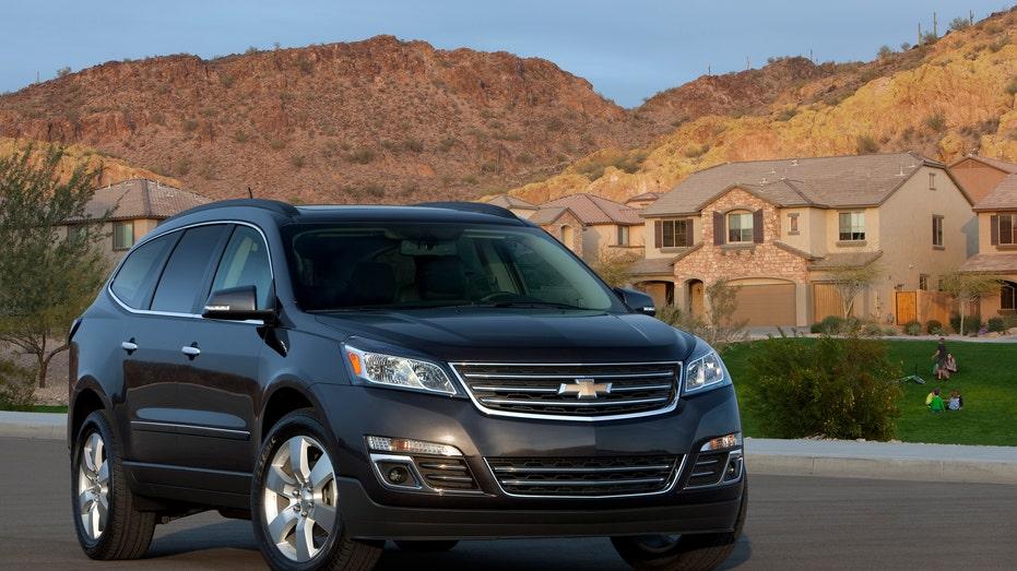 2016 Chevrolet Traverse front FBN