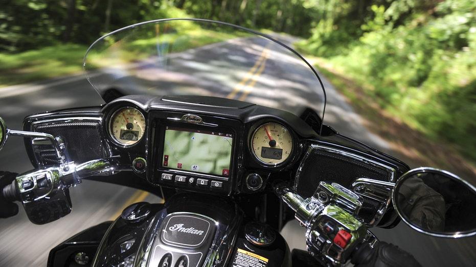 2017 Indian Roadmaster GPS nav FBN