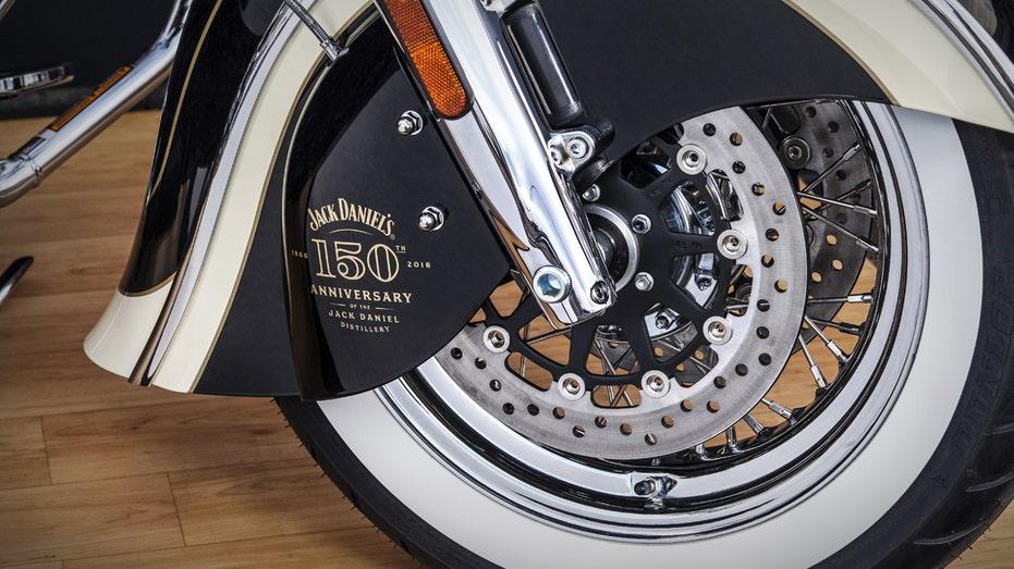 Indian Motorcycle Jack Daniel's wheel FBN
