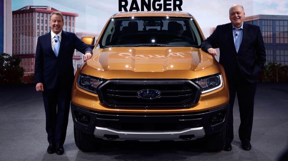 2019 Ford Ranger, Detroit auto show AP FBN