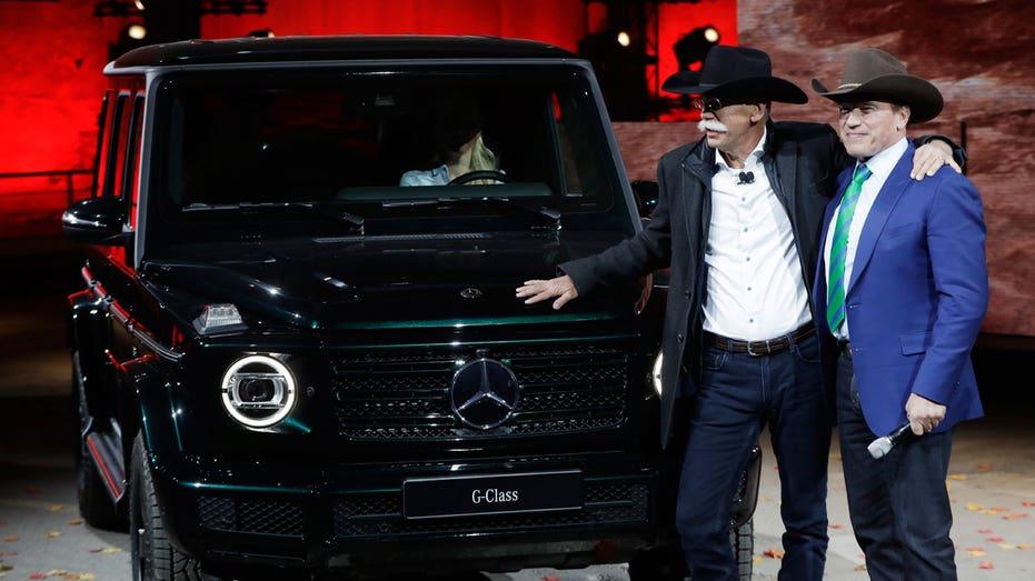 2019 Mercedes G-Class, Detroit auto show AP FBN