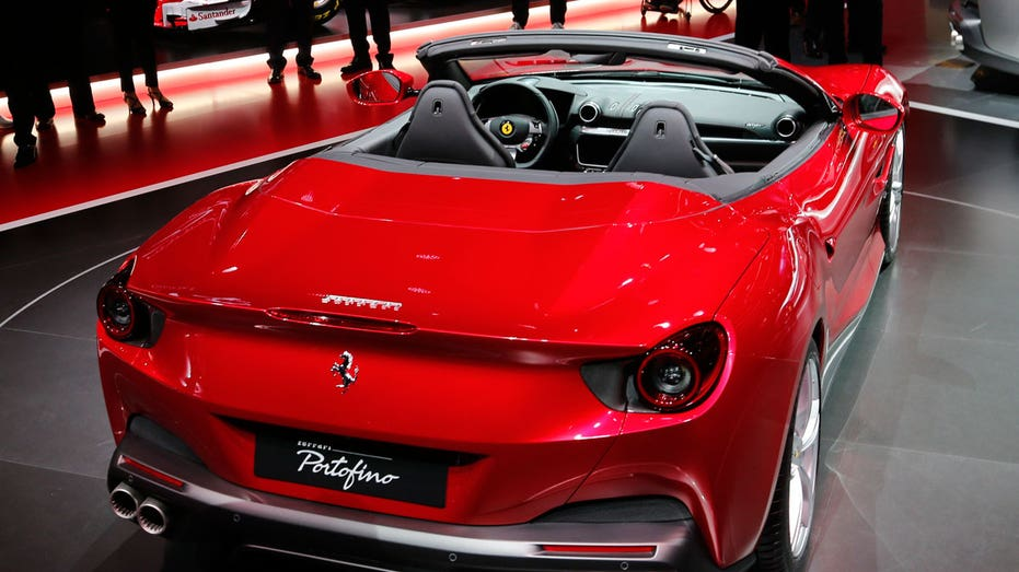 Ferrari Portofino rear view AP FBN