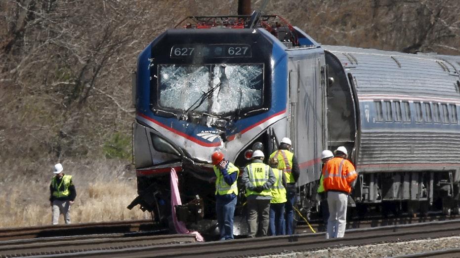 Amtrak Crash Chester PA