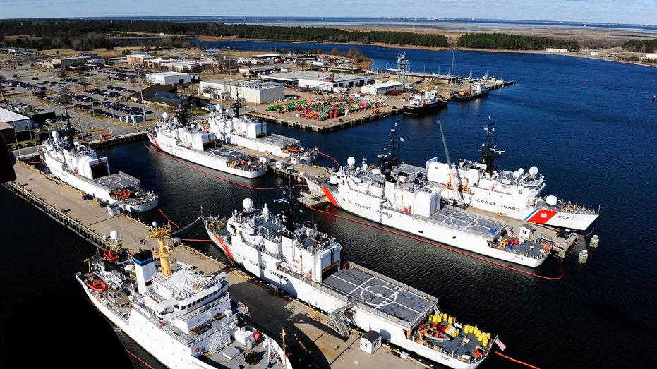 Coast Guard Ships FBN