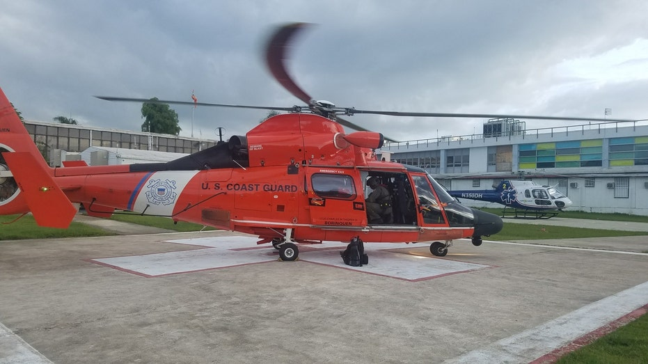Coast Guard Dolphin Helicopter