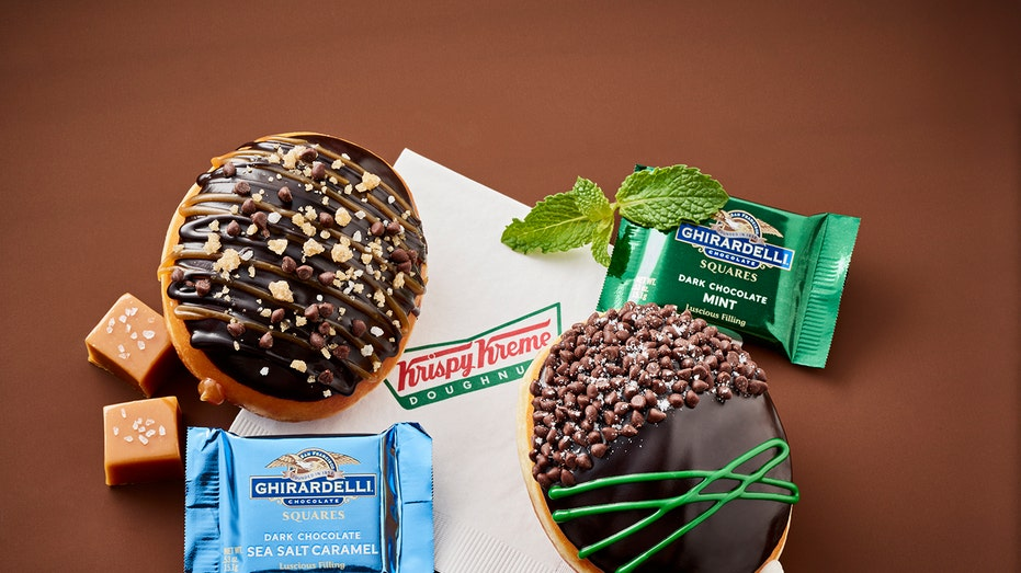 Ghiradelli Krispy Kreme Doughnut