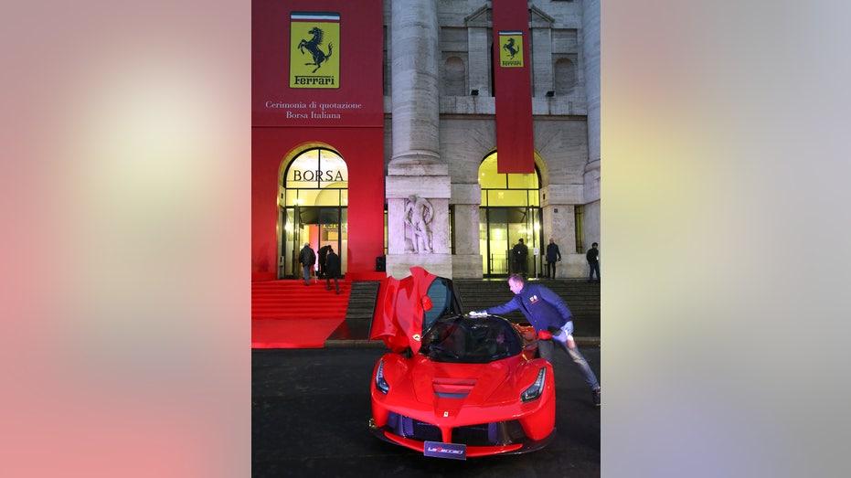 Ferrari LaFerrari in Milan Italy FBN