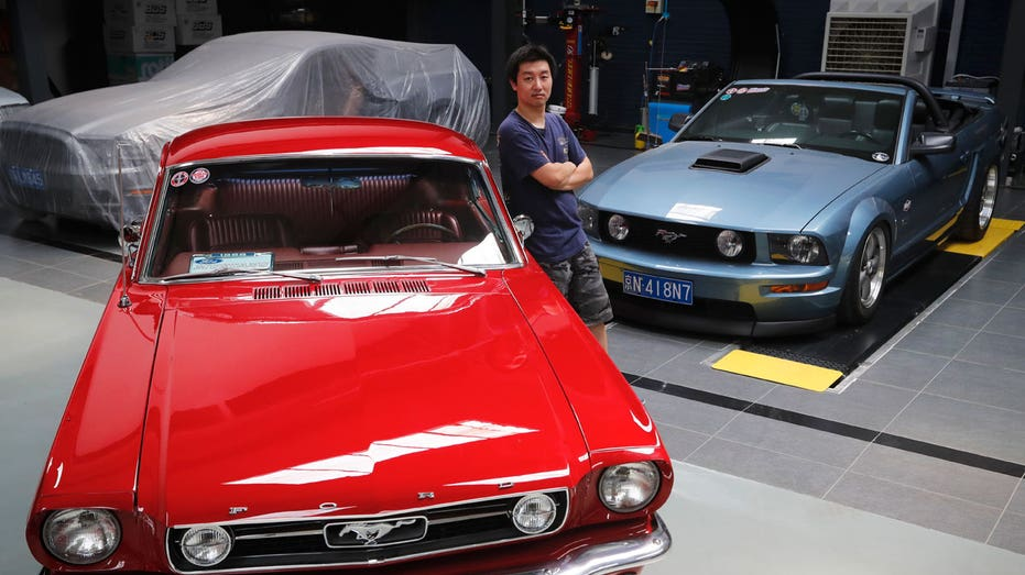Ford Mustang classic cars in China FBN AP